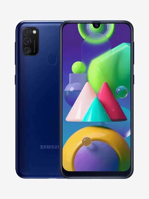 Samsung Galaxy M21 (Midnight Blue, 128 GB)