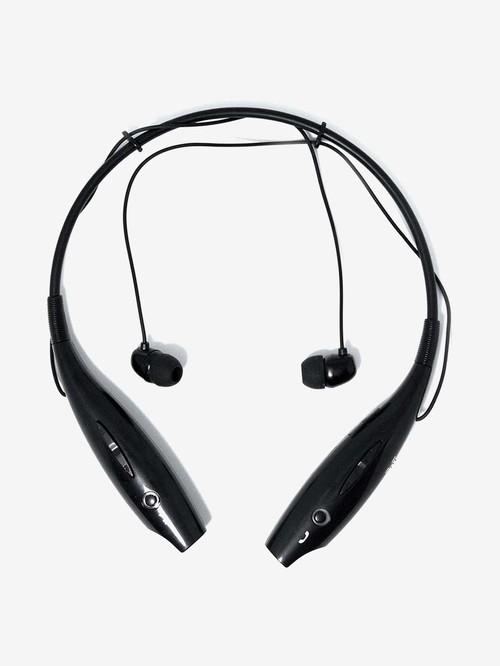 Alpino HBS 730 Bluetooth Wireless Neckband with Microphone  Black