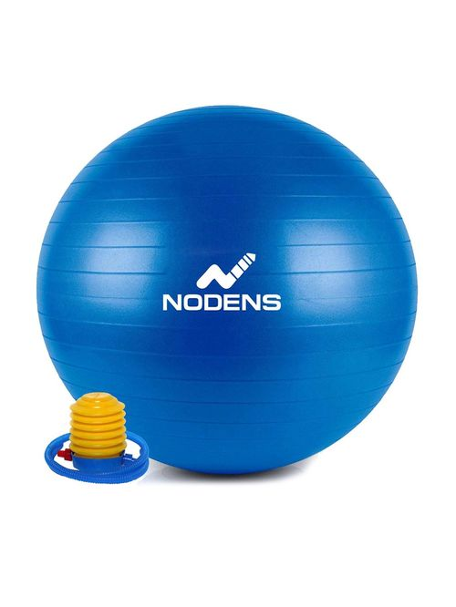 NODENS Blue Anti Burst Gym Ball  75 cm  NODENS Footwear TATA CLIQ