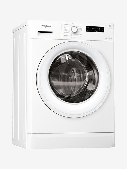 Whirlpool 6 kg Fully Automatic Front Load Washing Machine 1200 RPM  White, Fresh Care 6112
