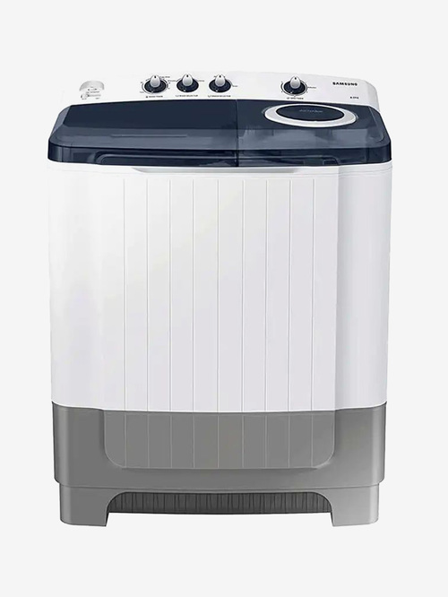 Samsung 8 kg 5 Star Semi Automatic Top Load Washing Machine  WT80R4200LG/TL, Light Grey  Samsung Electronics TATA CLIQ
