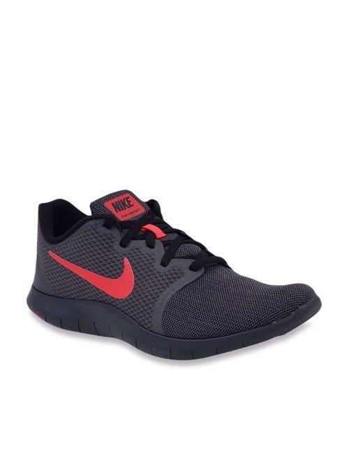 Qué factible Considerar  Buy Nike Flex Contact 2 Dark Grey Running Shoes for Men at Best Price @  Tata CLiQ