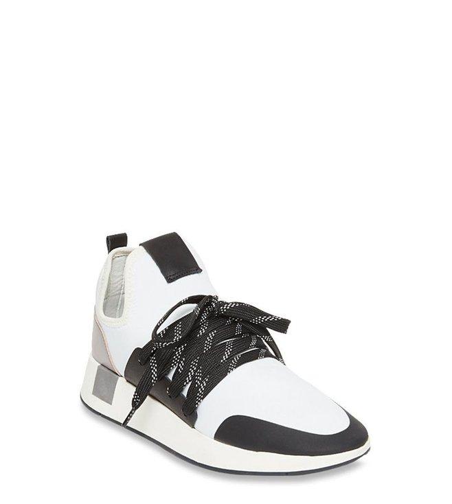 Buy Steve Madden Shady White Sneakers