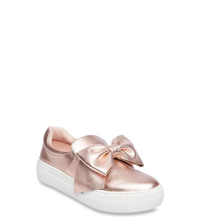 pasar por alto Produce amplio  Buy Steve Madden Empire Rose Gold Sneakers for Women at Best Price @ Tata  CLiQ