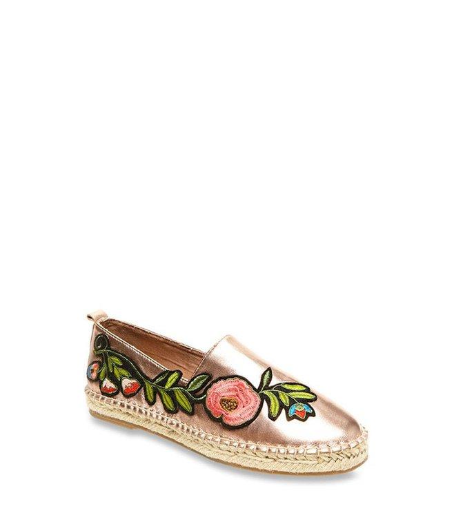 f365181c7b5 Buy Steve Madden Pastel Rose Gold Espadrille Shoes for Women at Best ...