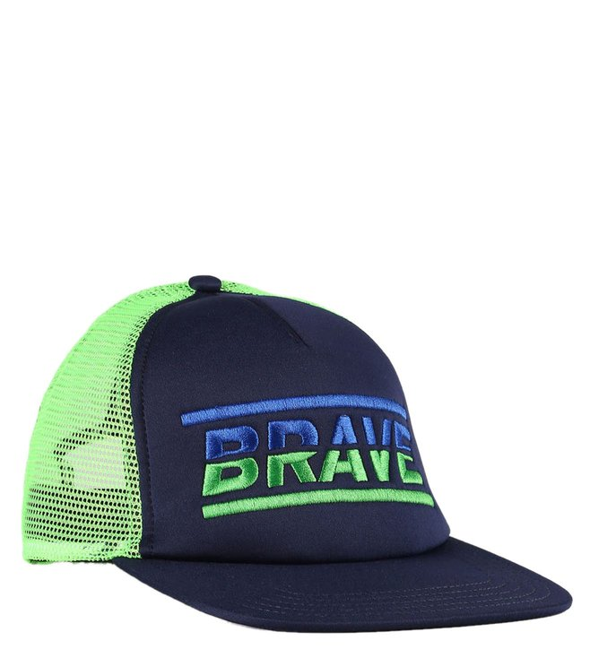 Diesel Peacoat Blue Conpoa Cappello Baseball Cap