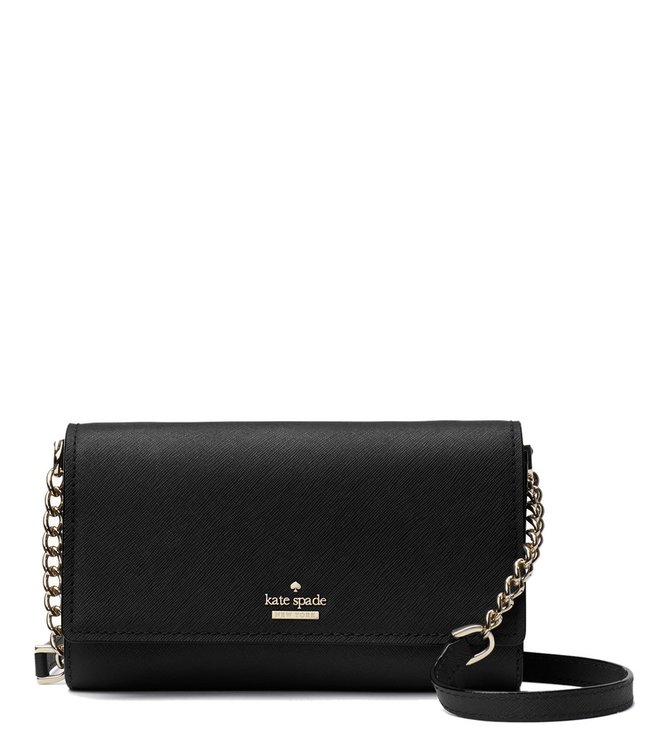 Buy Kate Spade Black Corin Cross Body Bag for Women Online   Tata ... 4ac3b33348