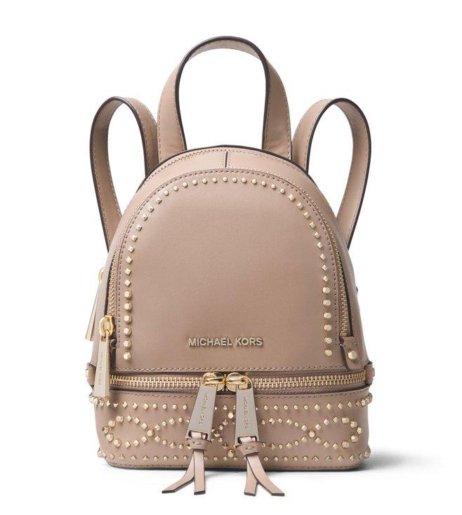 d5a9696dada0 Buy MICHAEL Michael Kors Truffle Rhea Zip Backpack for Women Online ...