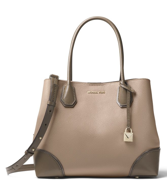 71673b11686a Buy MICHAEL Michael Kors Truffle & Mushroom Mercer Gallery Tote for ...