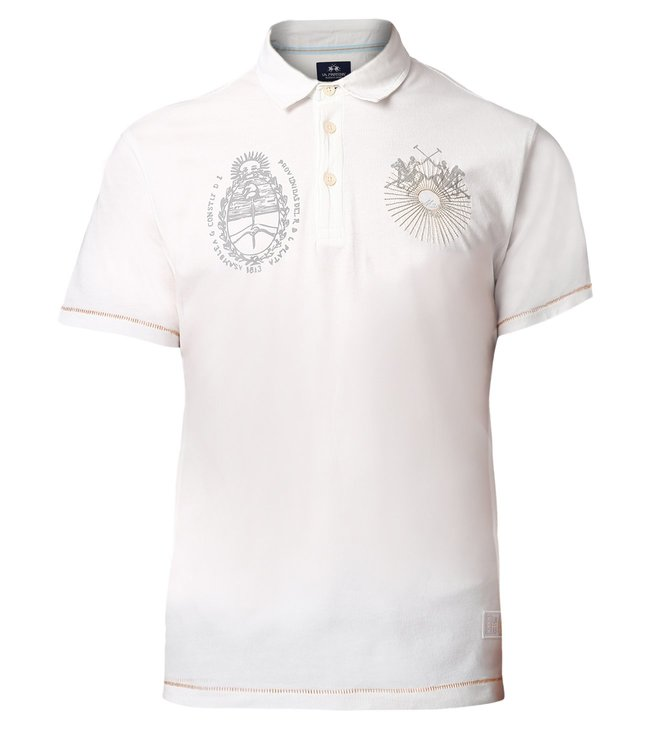 f2ca455b92 Buy La Martina Off White Life Style Polo T-Shirt for Men Online ...