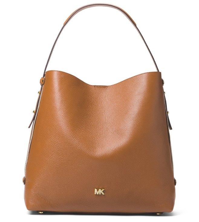 Buy MICHAEL Michael Kors Acorn Hobo Bag for Women Online   Tata CLiQ ... a056fa105dd61