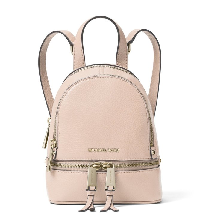 c663ca41a605 Buy MICHAEL Michael Kors Soft Pink Rhea Zip Backpack for Women ...