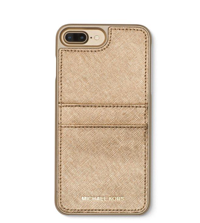 8e3c27589a30e Buy MICHAEL Michael Kors Pale Gold Textured iPhone 7 Plus Case for ...