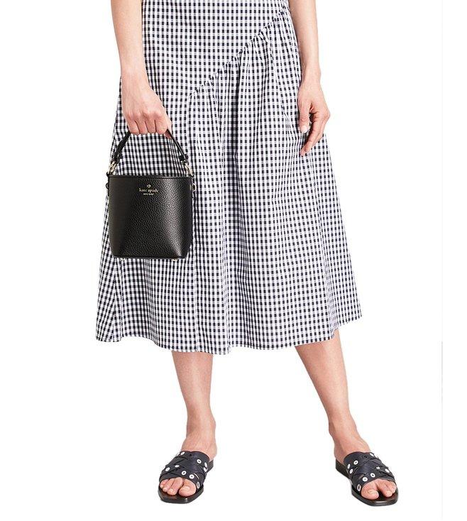 b092ce66e073 Buy Kate Spade Black Hayes Street Pippa Bucket Bag for Women Online ...