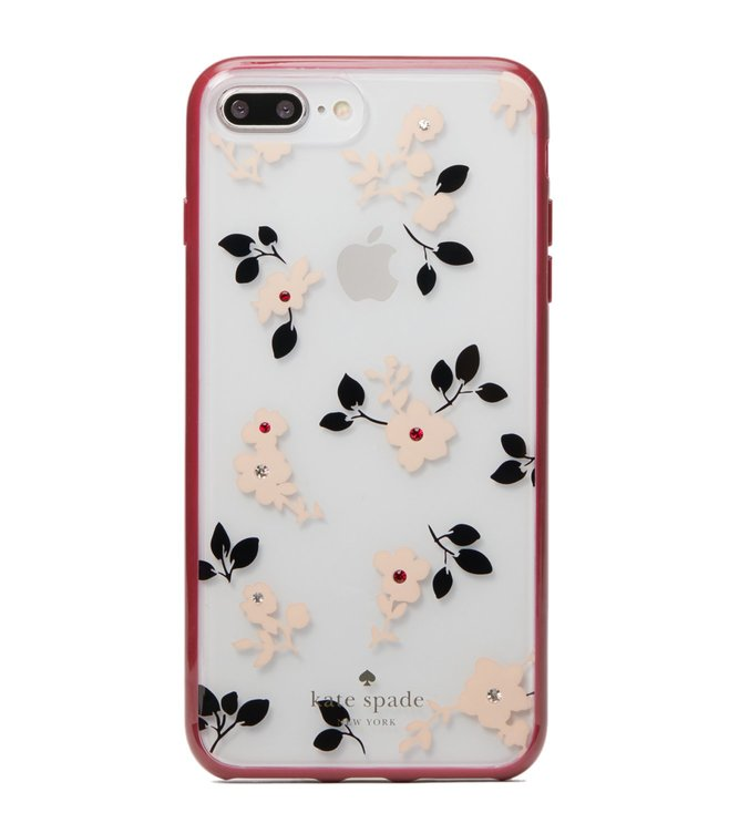 on sale 72034 d981f Buy Kate Spade Clear Multi Jeweled Camellia Iphone 8 Plus Case for ...