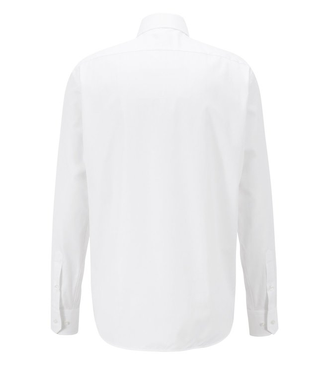 7fa000205 Buy Hugo Boss White Gordon Regular Fit Shirt for Men Online @ Tata ...