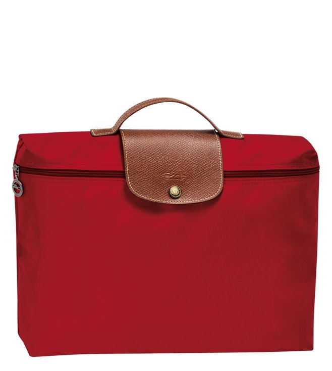 f0ac371980b0 Buy Longchamp Le Pliage Red Small Document Holder for Women Online ...
