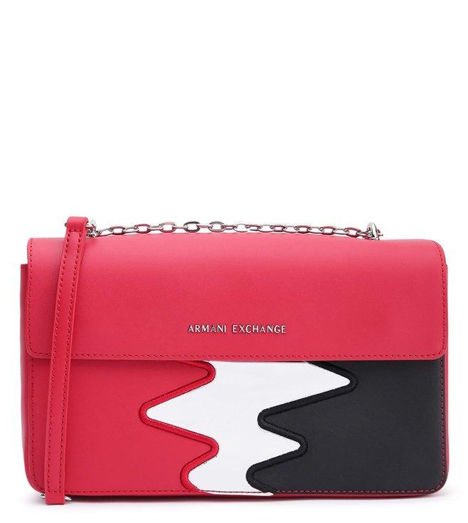 d308ea57 Buy Armani Exchange Bloody Mary Zigzag Cross Body Bag for Women ...