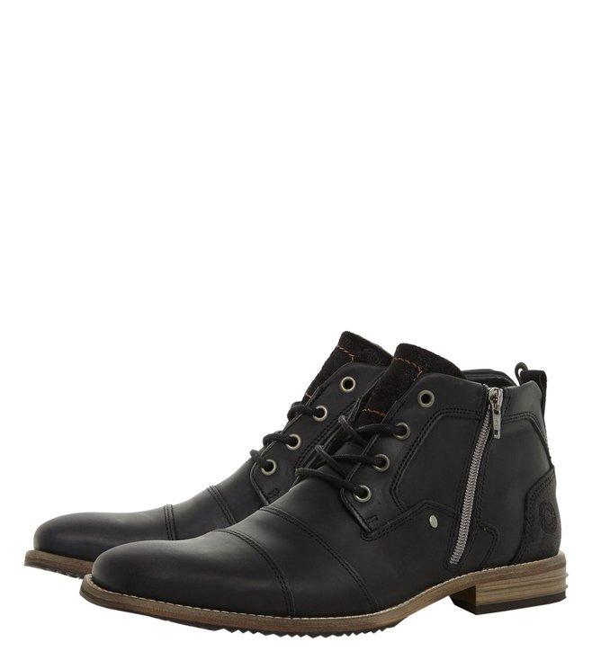 Buy Dune London Black Captains Boots for Men Online   Tata CLiQ Luxury ceec05a76