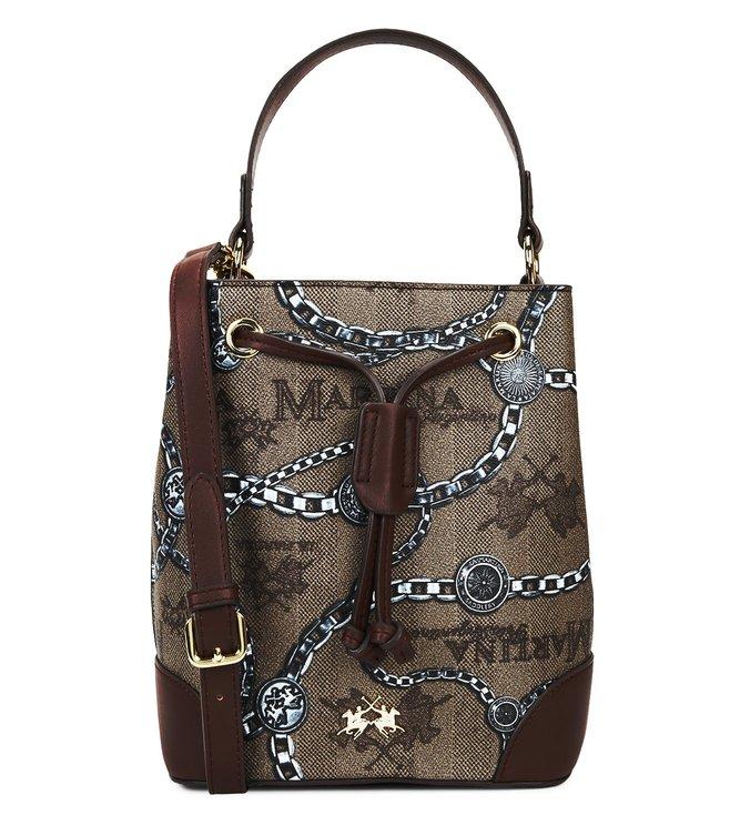 c4623d1d58 Buy La Martina Incense Bison Reconquista Lady Bucket Bag for Women ...