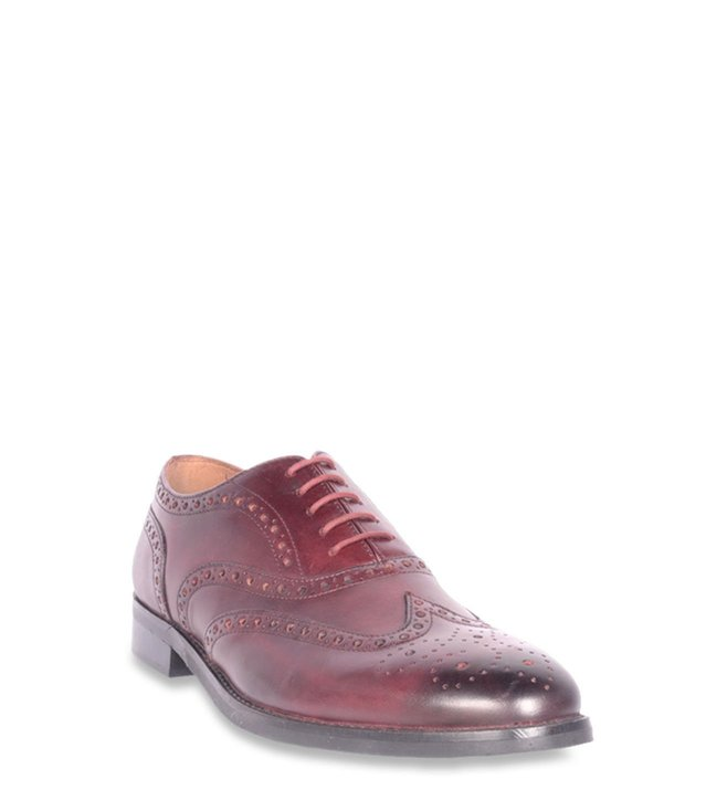 90a2c847e4d Buy Steve Madden Chloe Burgundy Brogue Shoes for Men at Best Price ...