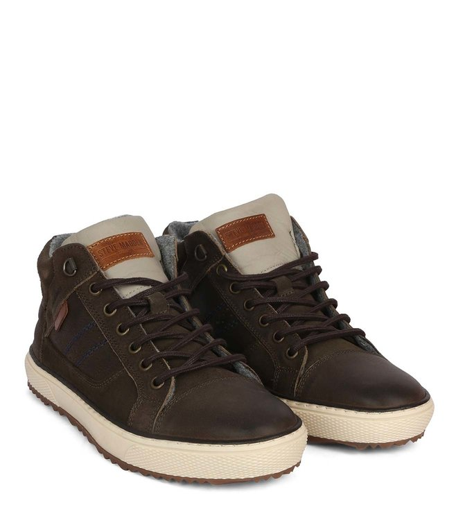 3b5779753e3 Buy Steve Madden Green Freddy Leather Men Sneakers Online @ Tata ...