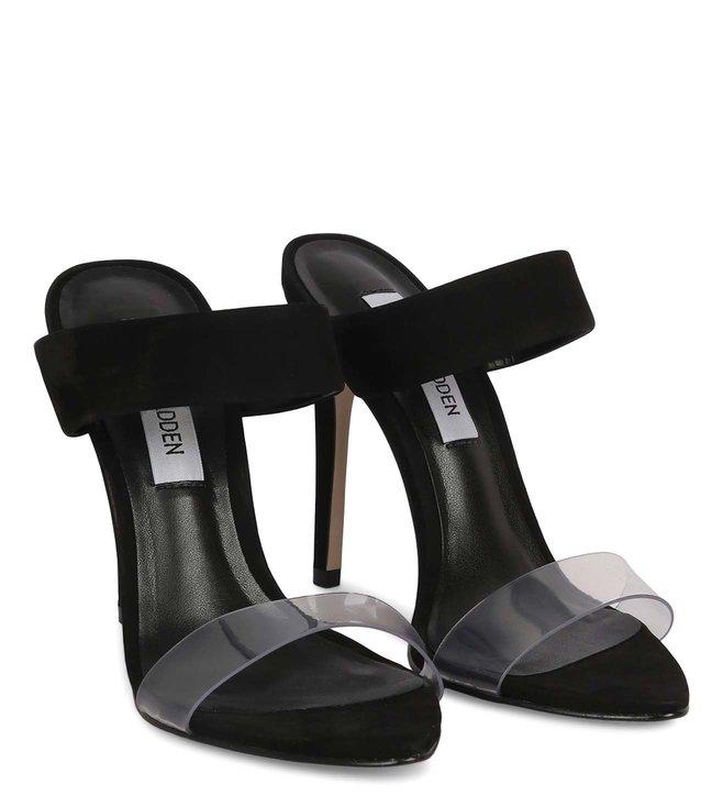 92c32bfef6a Buy Steve Madden Black Amaya Stiletto Heel Sandals for Women Online ...