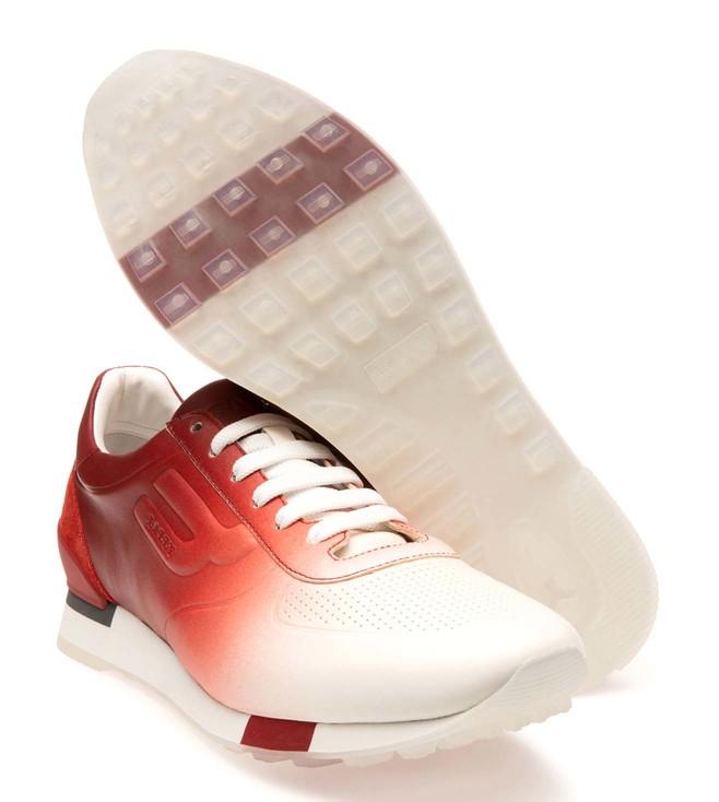 Buy Bally White \u0026 Red Galaxy Glad Men