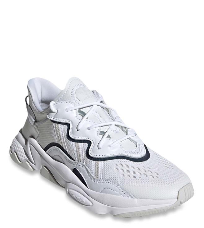 Buy Adidas Originals White OZWEEGO Men