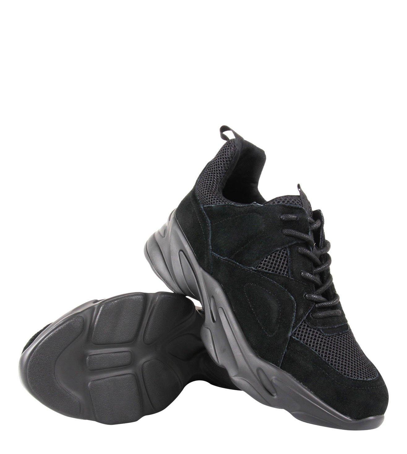 Steve Madden Black Mover Men Sneakers