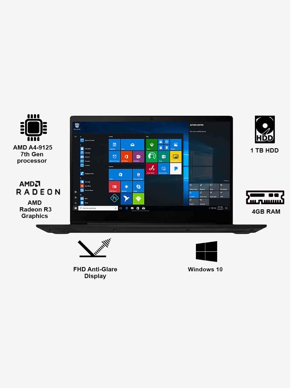 Buy Lenovo Ideapad S145 81st0028in Amd A4 4gb 1tb 14 Inch Win10 Online At Best Price Tata Cliq