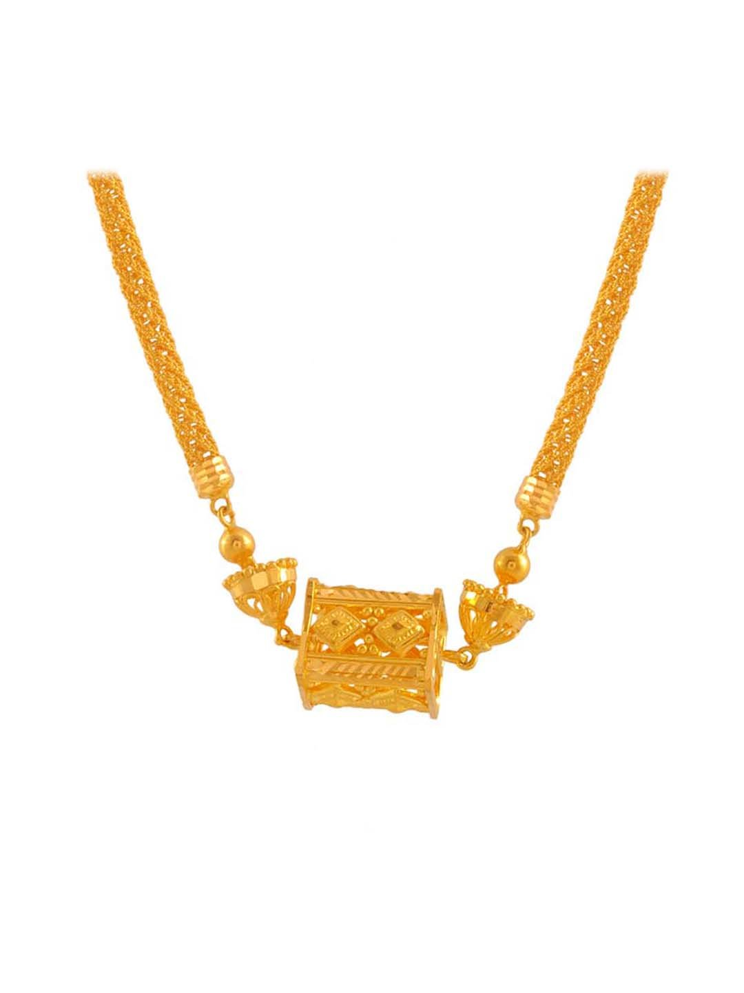 Buy P C Chandra 22 Kt Gold Necklace Online At Best Price Tata Cliq