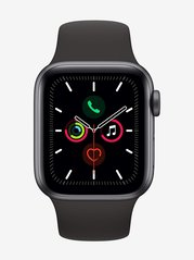 Apple Watch Series 5 (GPS, 40mm) Space Grey Aluminum Case with Black Sport Band