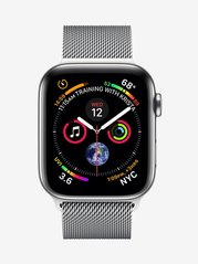 Apple Series 4 MTX12HN/A GPS + Cellular Smart Watch (Stainless Steel)