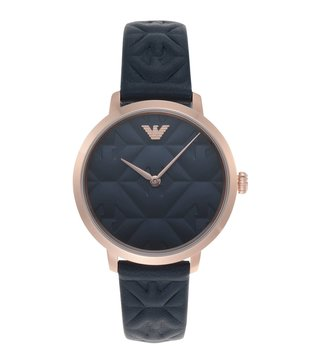 Emporio Armani AR11231 Modern Slim Blue Dial Watch for Women