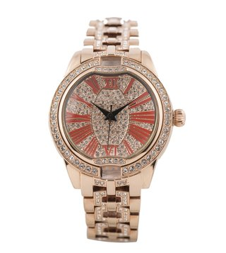 Jaipur Watch Company Rose Gold 700991 Envika Wrist Watch for Women