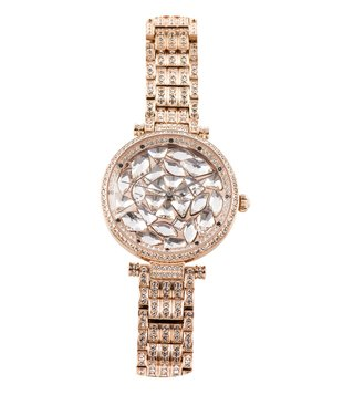 Jaipur Watch Company Rose Gold 706561 Envika Wrist Watch for Women