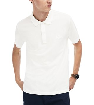 Lacoste White Regular Fit Polo T-Shirt