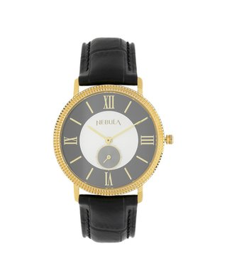 Nebula Watches ND620DL04 18KT Solid Gold Analog Watch for Men