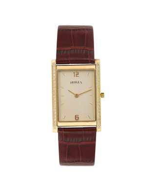 Nebula Watches ND1170DL01 18KT Solid Gold Analog Watch for Men