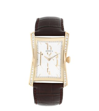 Nebula Watches 5015DL06 Calligraphy 18KT Solid Gold Analog Watch for Men