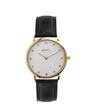 Nebula Watches ND600DL07 18KT Solid Gold Analog Watch for Men