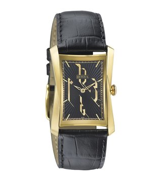 Nebula Watches 5015DL08 Calligraphy Solid 18KT Gold Analog Watch for Men