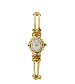 Nebula Watches ND2024DM02 18KT Solid Gold Analog Watch for Women