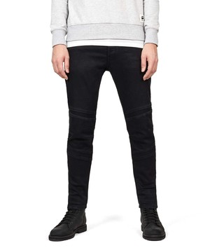 G-Star RAW Jet Black Slim Fit D-Staq Jeans