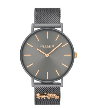 Coach 14503340 Perry Grey Dial Watch for Women