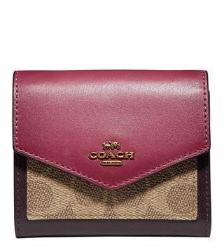 Coach Pink Small Wallet