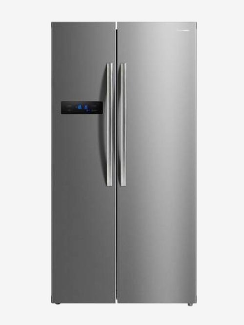 Panasonic 584 L Frost Free Side by Side Refrigerator  Silver, NR BS60MSX1