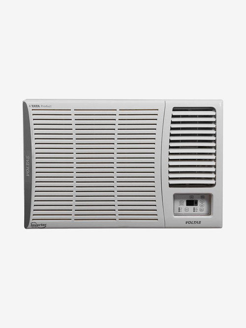 Voltas 1.5 Ton Inverter 5 Star Copper  BEE rating 2018  185V DZA Window AC  White