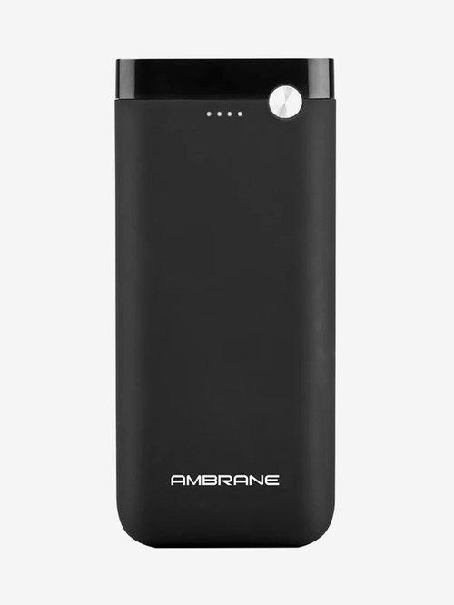 Ambrane PP 20 20000mAh Lithium Polymer Power Bank  Black
